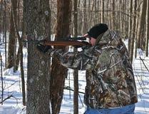 Winter hunting Royalty Free Stock Photos