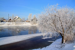 Winter ice Stock Photography