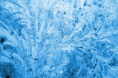 Winter ice background royalty free stock photo