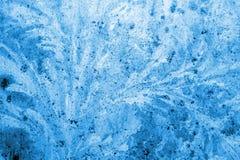 Winter ice background Royalty Free Stock Photo