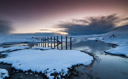 Winter in Iceland Stock Photos