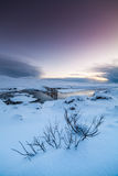 Winter in Iceland Royalty Free Stock Image