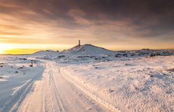 Winter in Iceland Stock Image