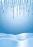 Winter Icicles Stock Images
