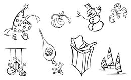 Winter icon 1 Stock Image