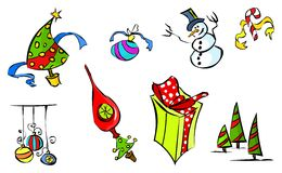 Winter Icon Color 1 Royalty Free Stock Photography