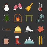 Winter icon Royalty Free Stock Images