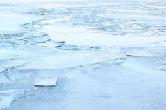 Winter icy background Royalty Free Stock Photos