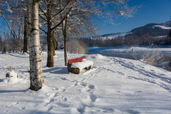 Winter idyll Stock Photos