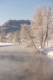 Winter idyll Stock Photography
