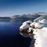 Winter湖II 免版税库存照片