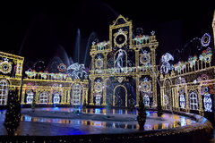 Winter Illumination Royalty Free Stock Images