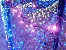 Winter Illuminations Dream. Tokyo German Village situated in Chiba Prefecture in Japan is one of famous flower parks in which they have fabulous seasonal stock photography