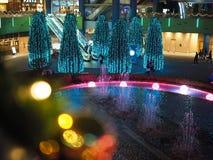 Winter Illuminations in Korakuen. Tokyo Dome in Korakuen in Tokyo, Japan is one of the places where in winter are fabulous seasonal illuminations royalty free stock photos