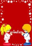 Winter illustration Royalty Free Stock Photography