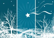Winter illustration Stock Photo