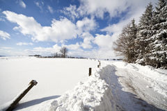 Winter im Allgäu Stock Images