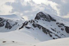 Winter im Bereich der sieben heiligen Seen stockbild