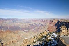 Winter im Grand Canyon stockfotos