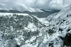 Winter im Himalaja Stockbilder