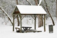 Winter im Wald Stockbilder