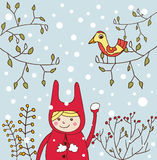 Winter image Royalty Free Stock Image