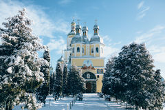 Free Winter  In Banceni Monastery. Royalty Free Stock Photography - 65742237