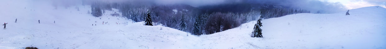 Winter In Carpathian Mountains Royalty Free Stock Photo