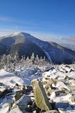 Winter In Mountains. Royalty Free Stock Image