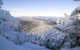 Winter In The Mountains Stock Photos