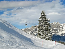 Free Winter In The Swiss Alps Stock Photos - 11960973