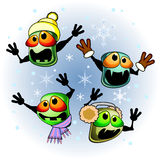 Winter infection Royalty Free Stock Photos