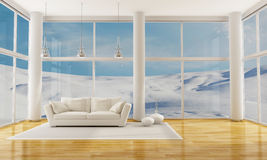 Winter Interior Royalty Free Stock Image