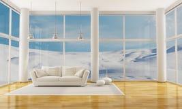 Winter Interior royalty free stock image