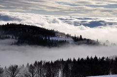 Winter inversion Stock Image
