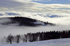 Winter inversion Royalty Free Stock Photos