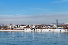 Winter Irkutsk Stock Photography