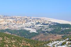 Winter in Israel Lizenzfreies Stockbild