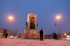 Winter in Istanbul Royalty Free Stock Images