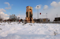 Winter in Istanbul Royalty Free Stock Photography
