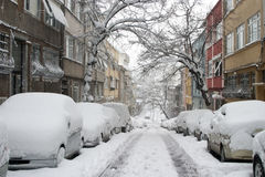 Winter in Istanbul Stock Photo