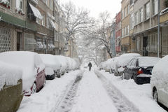 Winter in Istanbul Stock Photography