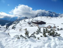 Winter in the Italian Alps Royalty Free Stock Image