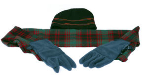 Winter items Royalty Free Stock Photography