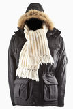 Winter jacket Royalty Free Stock Photo