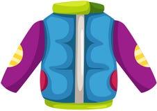 Winter jacket stock illustration