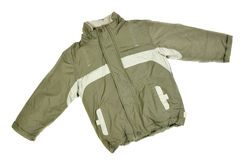 Winter jacket Stock Images