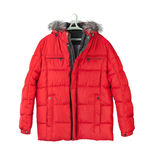 Winter jacket Royalty Free Stock Photography