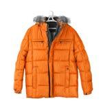 Winter jacket. Isolated on white background Stock Photo