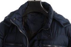 Winter jacket isolated on white background. Men Stock Photography